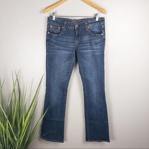 Grace in LA Bootcut Denim Jeans Dark Wash
